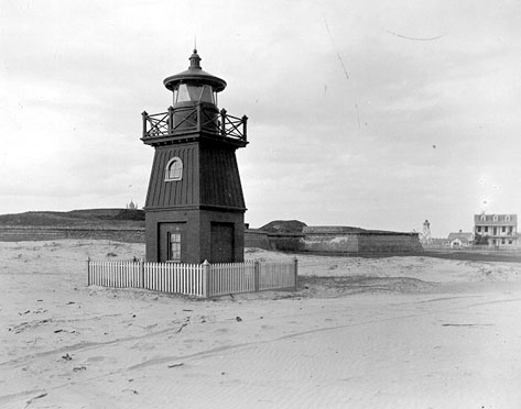 Sullivans Island South Range Front Light 1885
