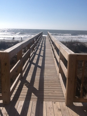 folly beach access